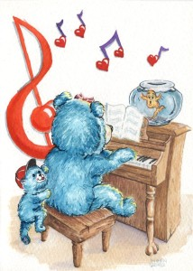 Piano Bears